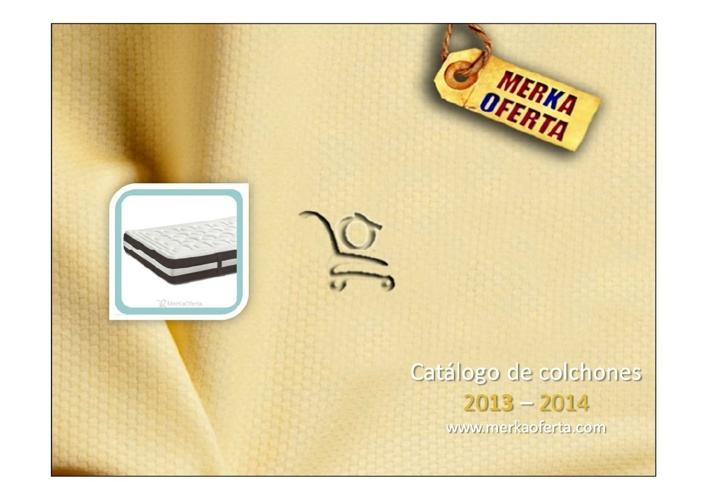 Catálogo Colchones 2013-14