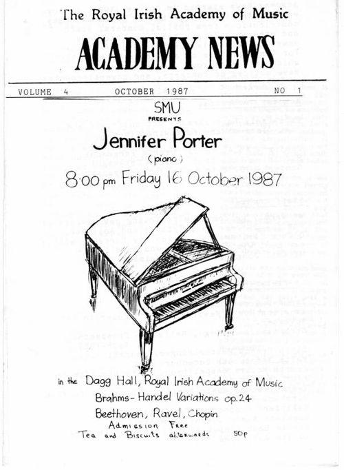 Academy News October 1987