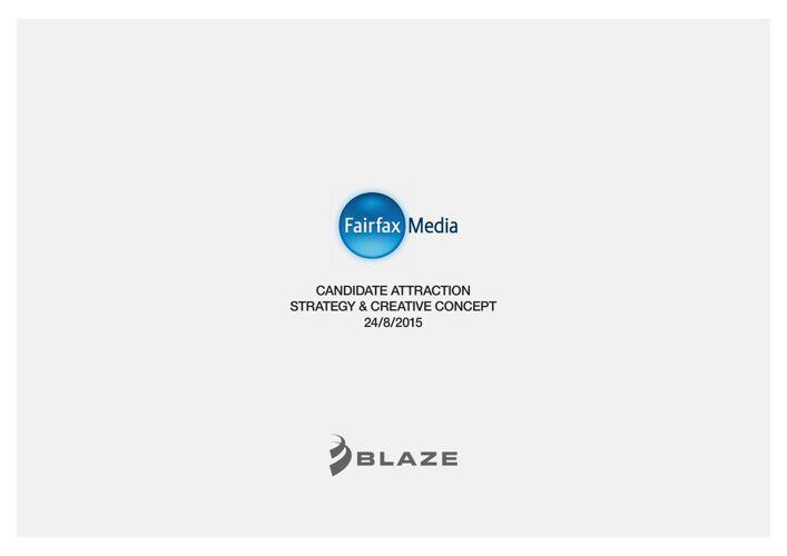 Blaze for Fairfax Media