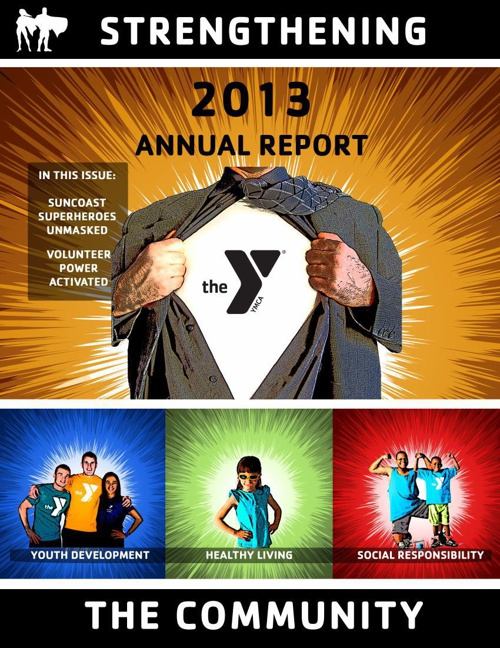 YMCA of the Suncoast Annual Report 2013