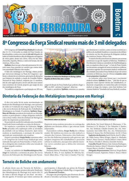 Jornal O Ferradura Junho 2017