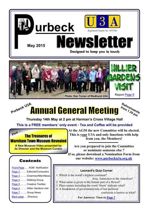 Newsletter 2015-05