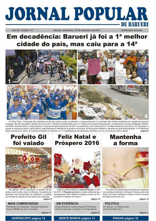 117ª edição do Jornal Popular de Barueri