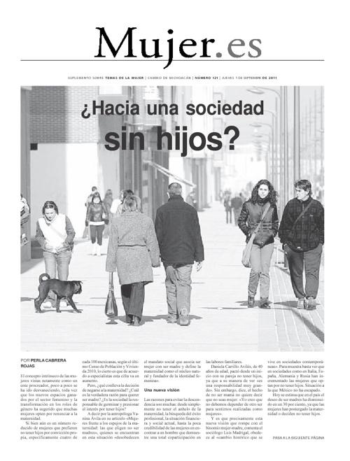 Mujer.es 1 Septiembre 2011