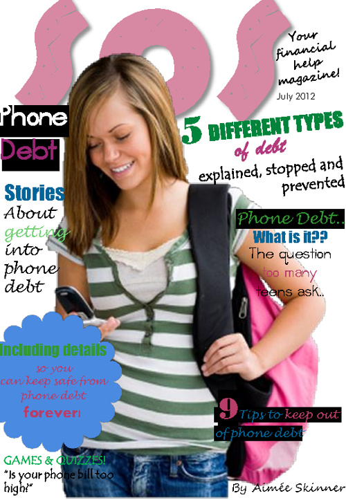 Copy of SOS Magazine - Phone Debt -  Aimee Skinner
