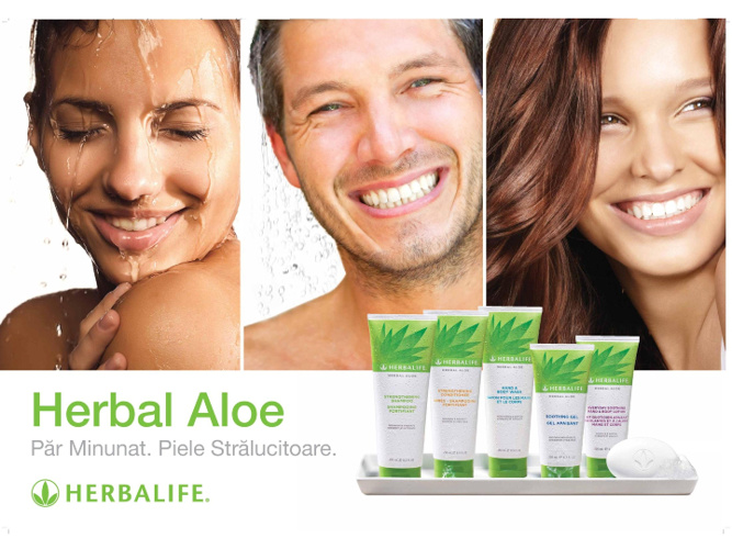 Noua gama Herbal Aloe de la Herbalife !