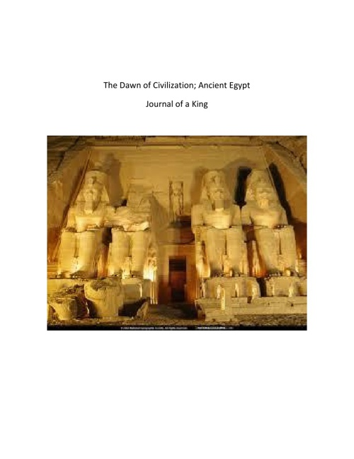 Ancient Egypt; Journal of a Pharaoh