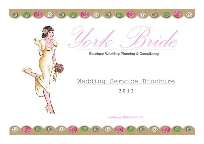 York Bride 2012 Wedding Brochure