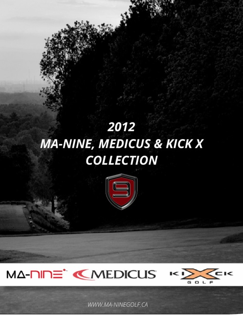 MA-Nine Golf Sales Brochure created by Steelmark Designs