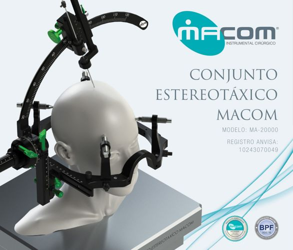 Macom - Conjunto Estereotáxico
