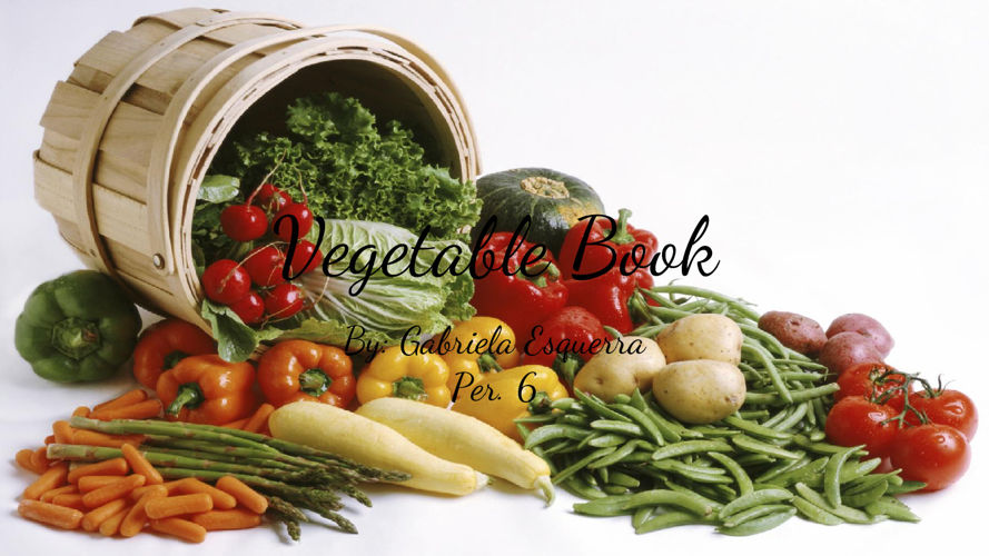 Vegetable Book