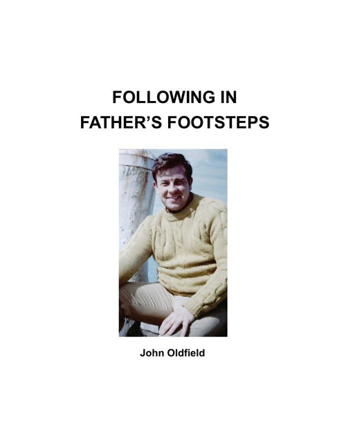 1. Following in Fathers Footsteps part 1 print