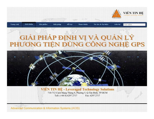 GPS VT1 Cust-Presentation