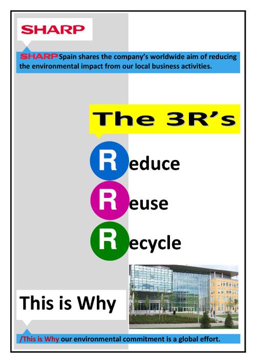 3R's leaflet