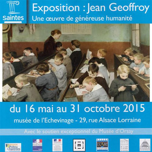 Catalogue exposition Jean Geoffroy Saintes