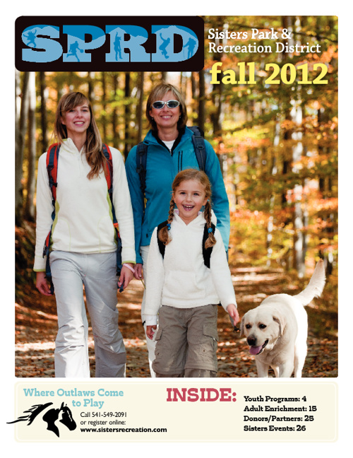 Sisters Park and Recreation District Fall Catalog 2012