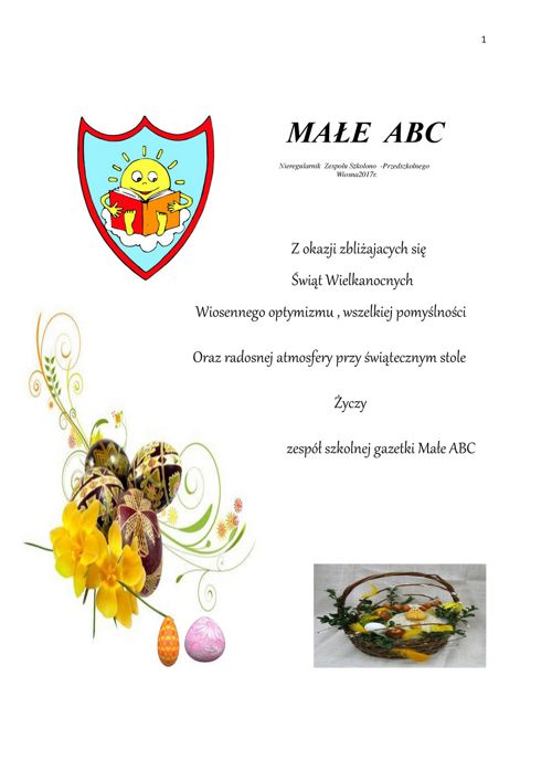 MAłE ABC-Wiosna