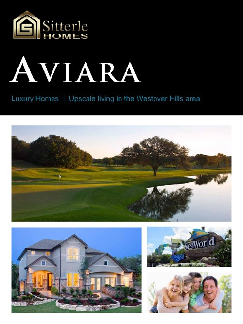 Sitterle Homes Aviara Brochure