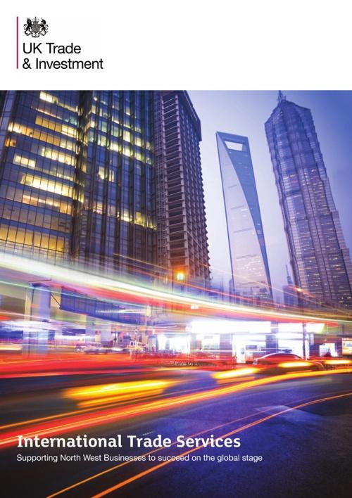 UKTI North West International Trade Services Brochure