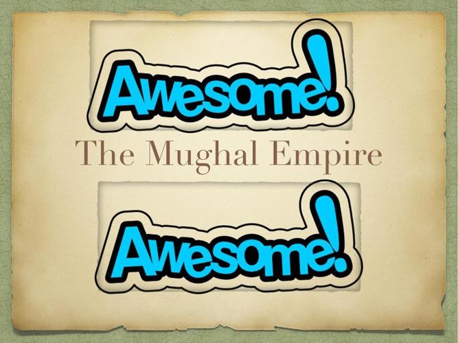 Megan, Mughal empire presentation (1)