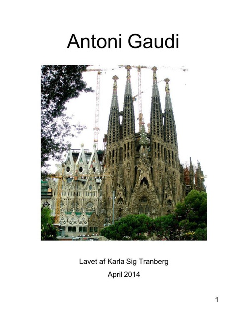 Antoni Gaudi del 1
