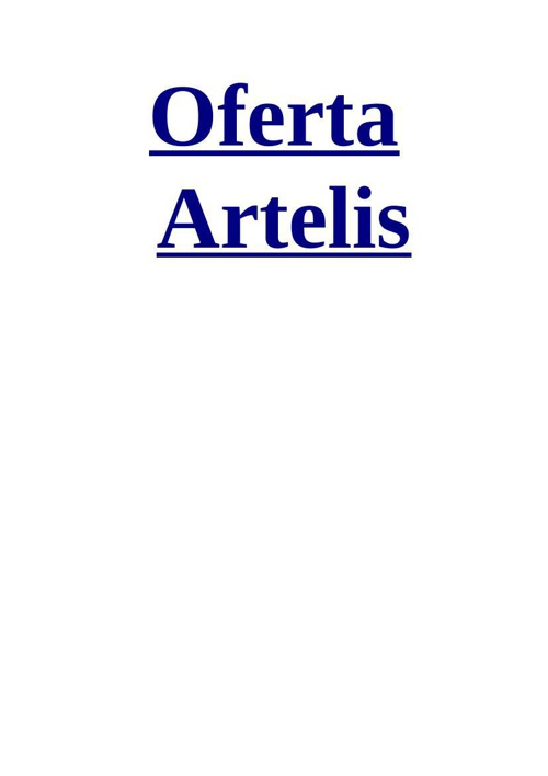 Oferta Artelis