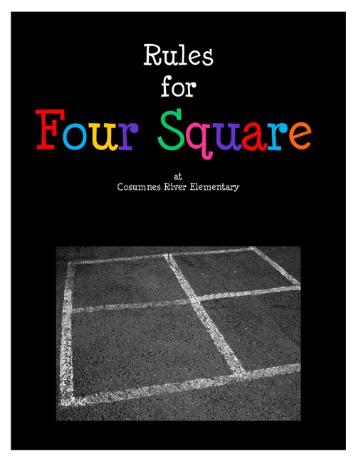 Four Square Rules (10 steps)