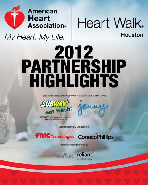 2012 Houston Heart Walk