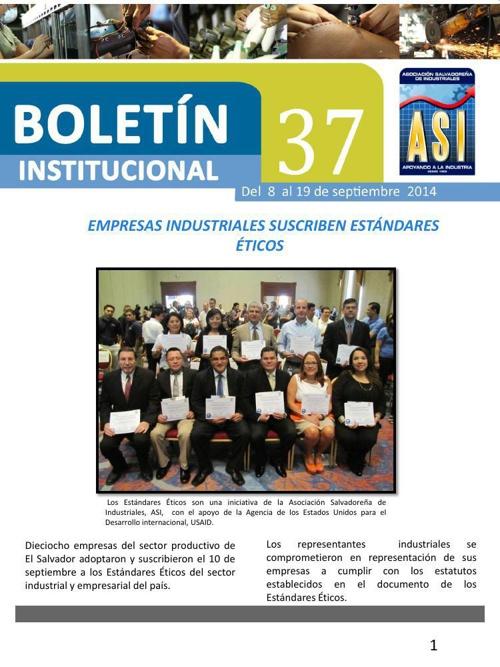 Boletín 37 de ASI
