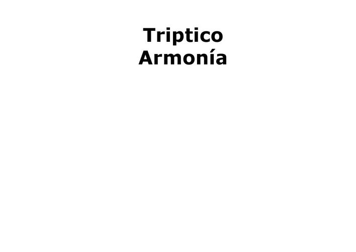 Tríptico Armonía