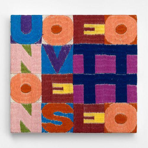 ALIGHIERO BOETTI Embroideries