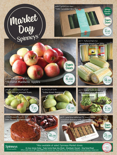 Spinneys Monday Market Day Deals