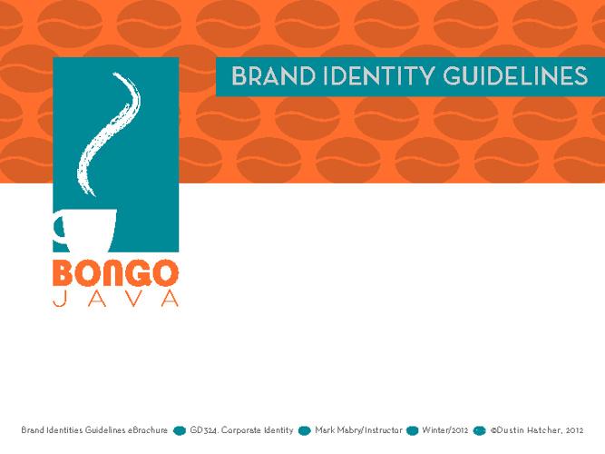 Bongo Java Identity Guidelines Booklet