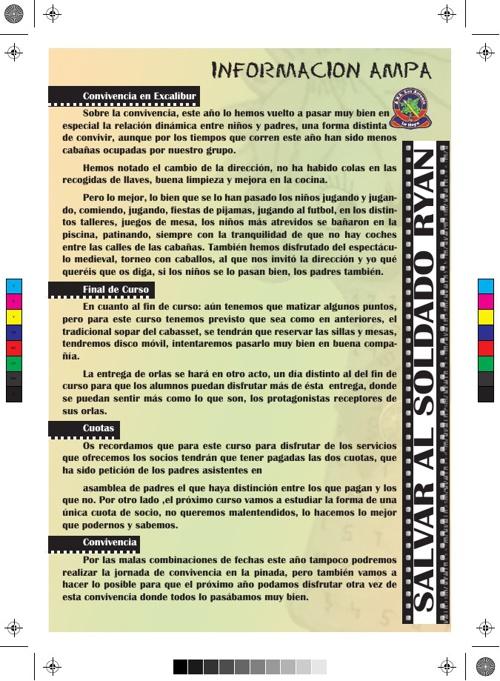 Revista Escolar ¡Lo último! CEIP SAN ANTONIO