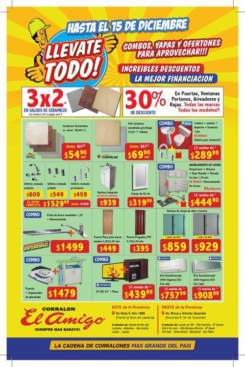 LLEVATE TODO HASTA EL 15 DE DICIEMBRE!!!