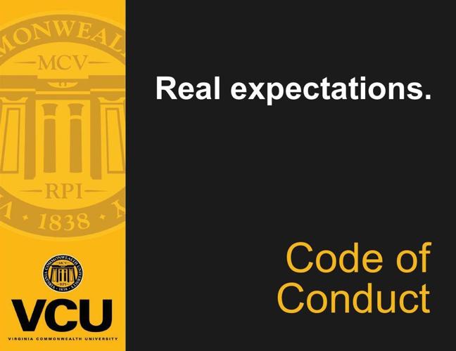 VCU Code of Conduct [FLIPSNACK] flat