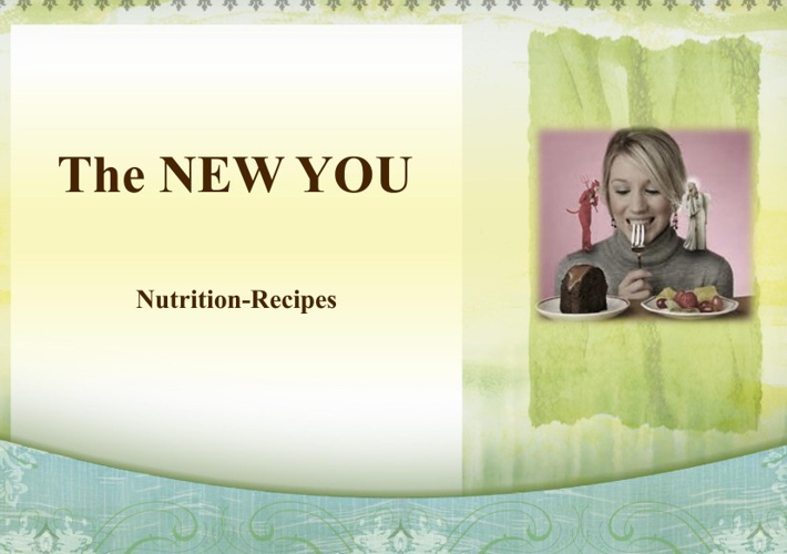 Center for Creative Living-The New You-Recipes