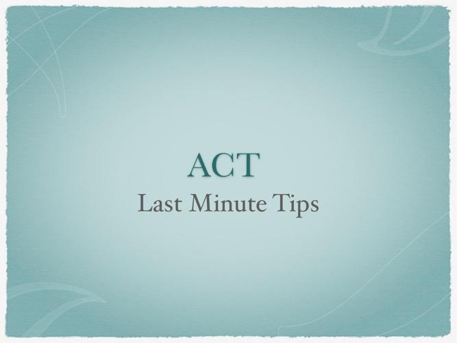 PDF ACT