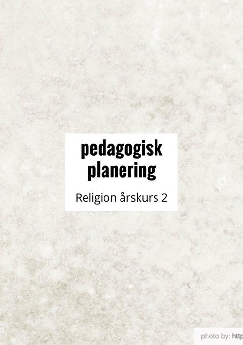 Pedagogisk planering religion