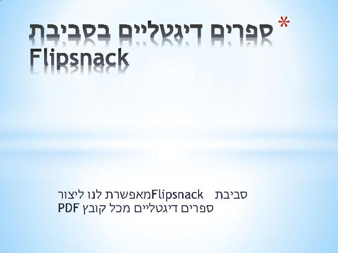 Copy of ספר הדרכת פליפ סנק