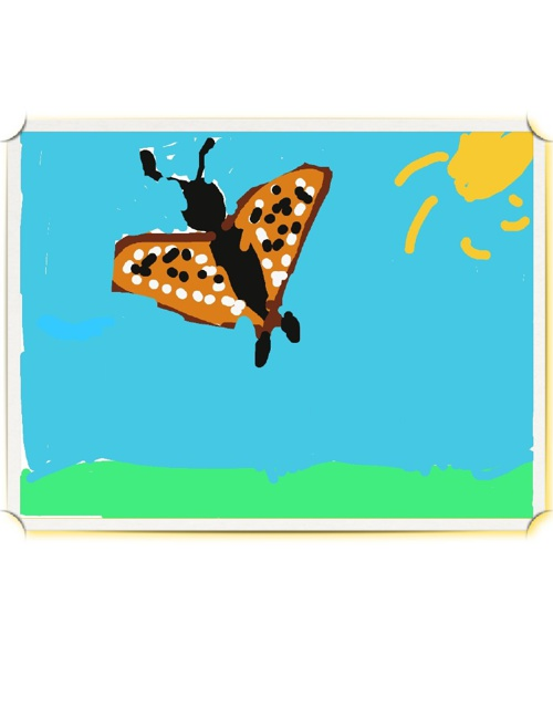 Mrs. Rafferty's Butterflies