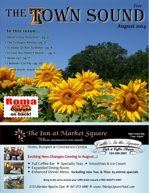 The Town Sound August 2014