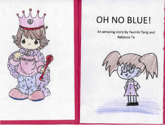 Oh No Blue -- story book by yazmin & rebecca 2011-12 Chinese 2