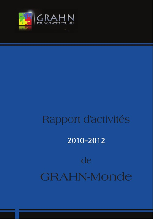 Rapport 2010-2012