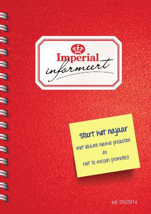IMPERIAL INFORMEERT - editie september 2014