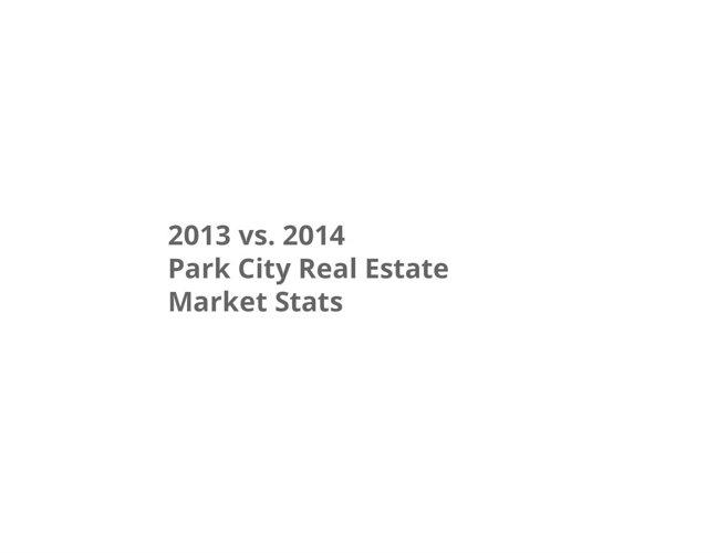 2013 vs 2014 Greater Park City