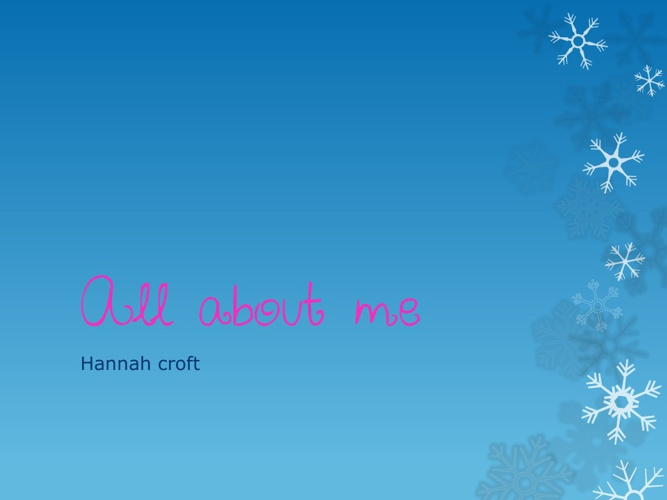 my story hannah croft