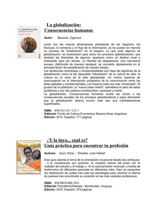 Educación Nutricional - Bibliografía - Dirección de Educación