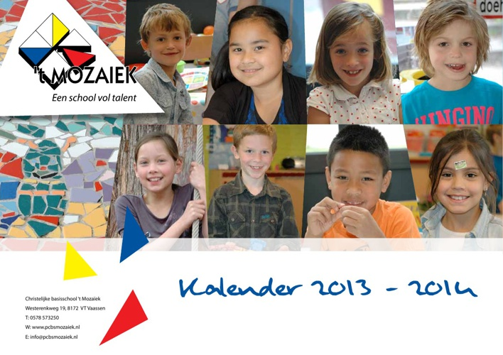 schoolkalender 2013-2014