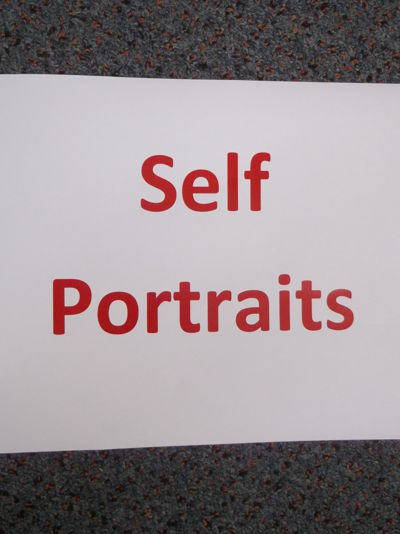 2B's Self-Portraits